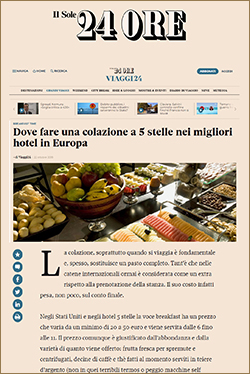 best-hotel-breakfast-in-europa, crillon, majestic-hotel-barcelona, villa-rene-lalique